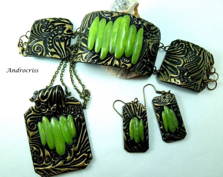 Greenery set bijuterii