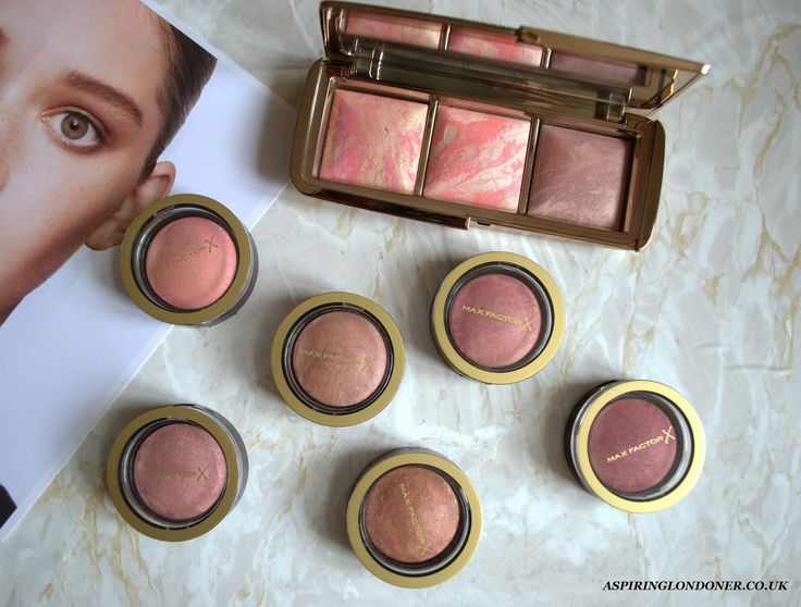 Hourglass Ambient Blush vs Max Factor Blush Dupe Swatch - Aspiring Londoner