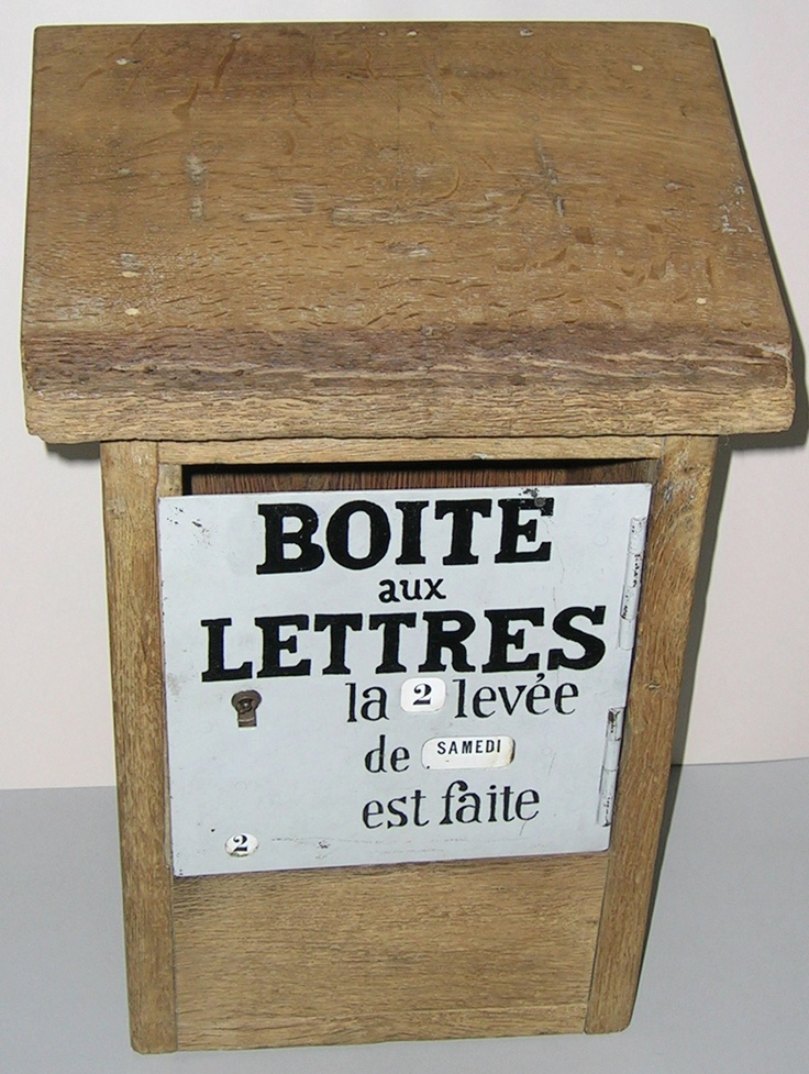 50 best images about bo tes aux lettres on pinterest el. Black Bedroom Furniture Sets. Home Design Ideas