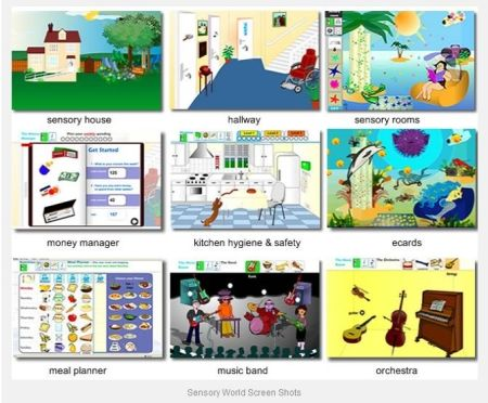 SensoryWorld website - WOW. A sensory wonderland but also great to learn valuable skills for daily living (hygiene, nutrition, money management etc)!  Do not miss this site! - Re-pinned by #PediaStaff.  Visit http://ht.ly/63sNt for all our pediatric therapy pins