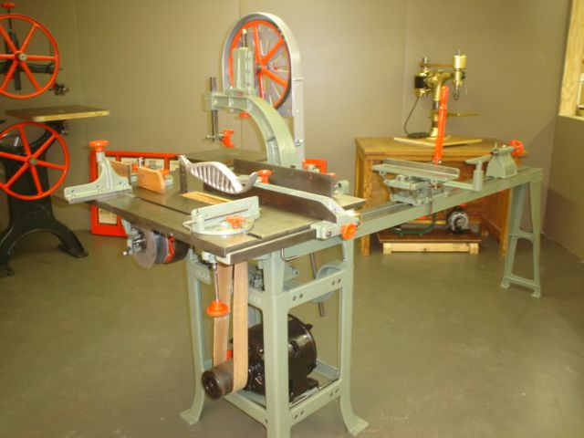 Woodworking Machinery Co. - ELECTRIC CARPENTER all-in-one machine