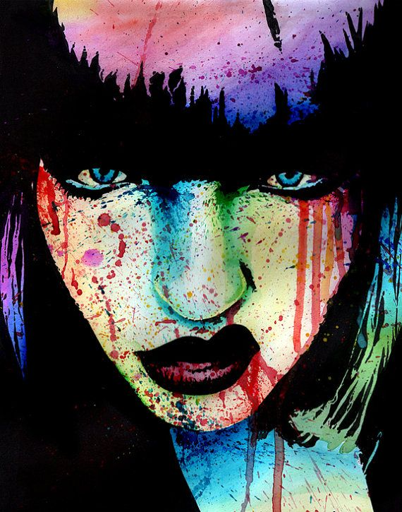 5x7, 8x10, or 11x14 Art Print - Wasted Youth - Punk Rock ...