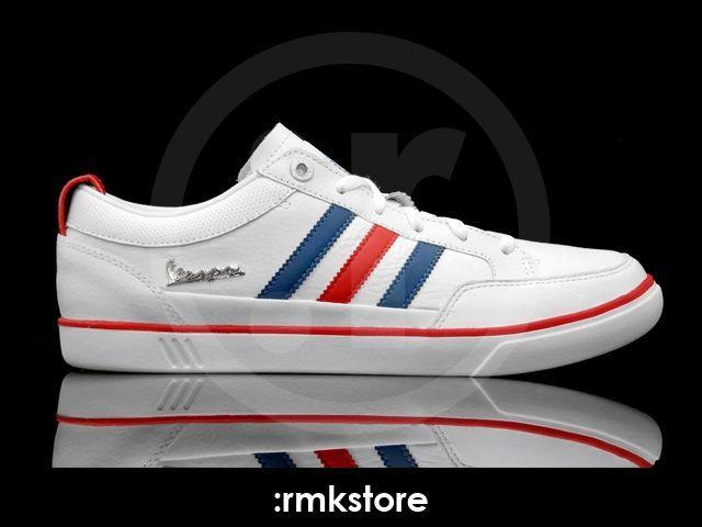 adidas vespa shoes white