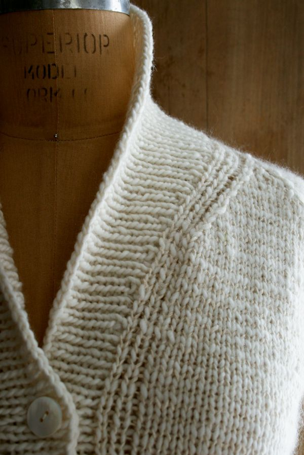 Back in the very early days of the Purl Bee when we had about a dozen readers, a quarter of whom were our mothers, we posted a pattern for a sweater that we called the Treeline Striped Cardigan. It has endured to this day, enjoying an active life on Ravelry and garnering many comments here on the Bee. Unfortunately, a not insignificant number of those comments have been... egads, corrections! This pattern is really from the Purl Bee dark ages, from before we had meetings or schedules or ...