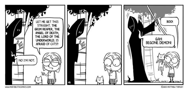 Mary Death :: 8 | Tapas Comics - image 1