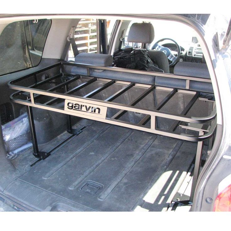 Garvin Utility Rack, 2005-2012 Nissan Xterra - This but on vertical slides / shocks from the roof - thinner too