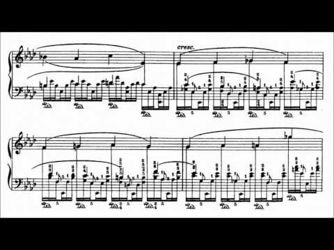 Godowsky's transcription of Chopin's etude in A flat major Op. 25 No. 1 played by Marc-Andre Hamelin (First version – Played by left hand only; Listening tip: use a set of good headphones)