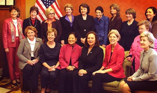The Women of the Senate by Senator Debbie Stabenow (D) MI, via Flickr