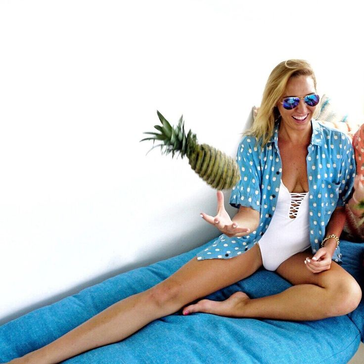 Pineapple shirt by Kenny Flowers The Shore Thing  Hawaiian cover ups