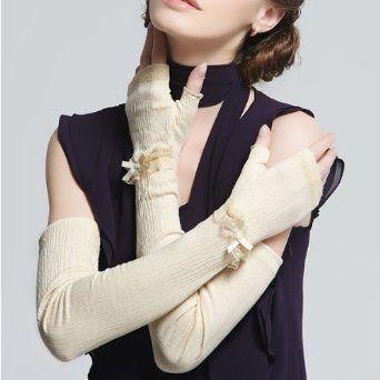 Amazon.co.jp: 2013 手袋 グローブ 運転必須 日焼け止め 日除けカバー ゴング 紫外線カット アームカバー レディース 結婚式 パーティードレスに ウェディングに mm303-ckst009(白): 服&ファッション小物