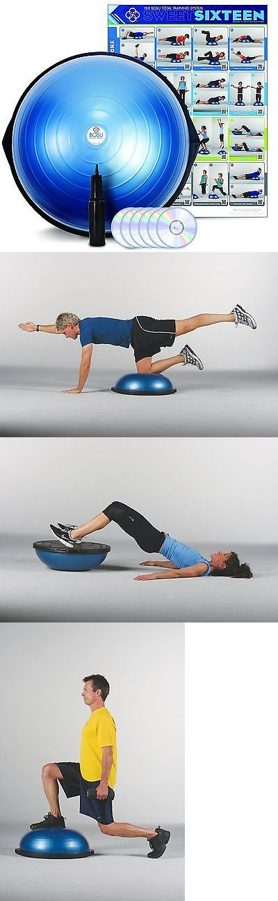 Balance Trainers 179803: Bosu Ball Pro Balance Trainer Exercise Ball Commercial Professional Gym Unit Fun BUY IT NOW ONLY: $120.65