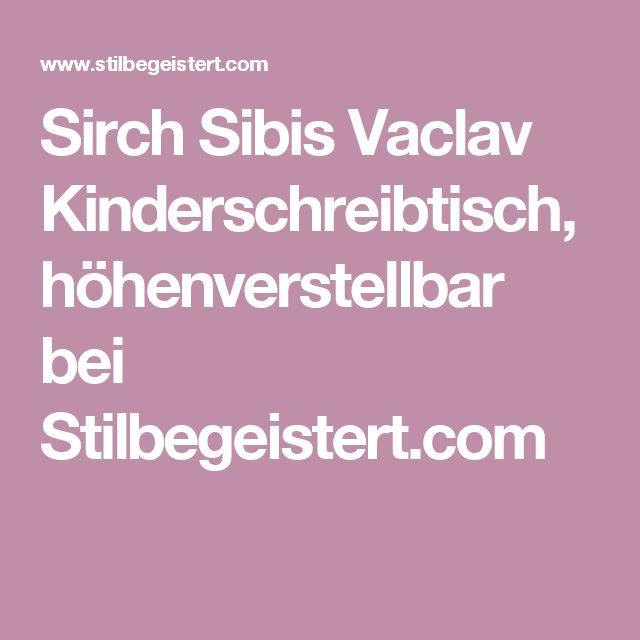 Sirch Sibis Vaclav Kinderschreibtisch, höhenverstellbar bei Stilbegeistert.com