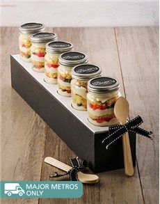 Cakes and Cupcakes - Cupcake Jars: 6 Gummy Galore Cupcakes in a Jar!