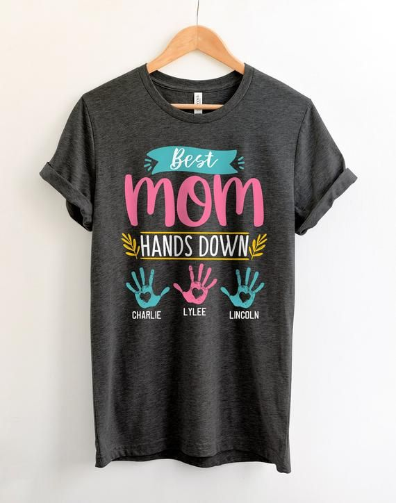 49c742487 Personalized Mothers Day Gift For Mom Tshirt Best Mom Birthday Gifts Custom  Mom Shirts Mom Presents