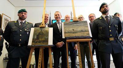 Online Business Operator: Stolen Van Gogh paintings found in anti-mafia raid...