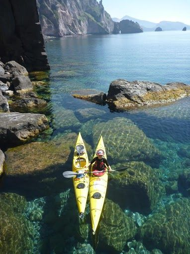 Yoga holidays with lots of other activities. One will be sea-kayaking!
