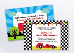 Boys Birthday Party Printables.
