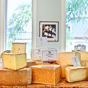 From Antonelli's to Zingerman's, these shops stock the finest local and imported cheese.