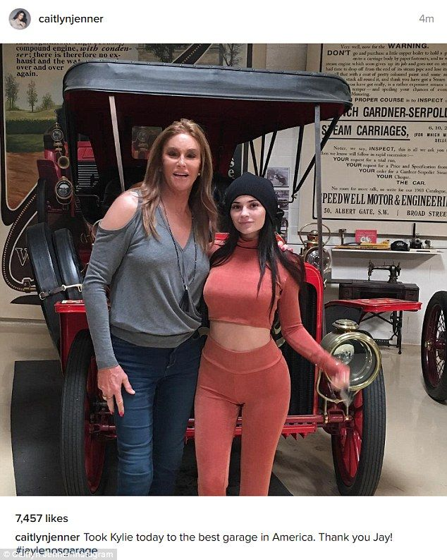 Family time: With her daughter Kylie Jenner, who has admitted to lip fillers
