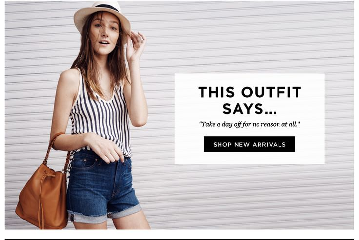 Madewell SUB: If these new arrivals could talk... La nuova tendenza? Bast sub noiose e senz'aninima!