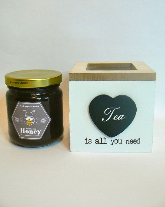 #Foodie Gift, #Greek Mountain Tea, #Greek Raw Honey  by VintageNatureGreece