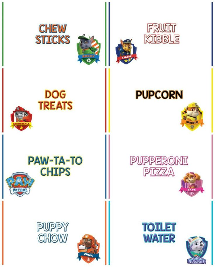 Best 25+ Paw Patrol Ideas On Pinterest