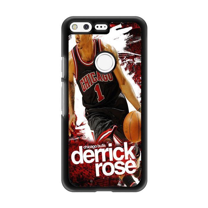 Derrick Rose Chicago Bulls Basketball Art For GOOGLE PIXEL