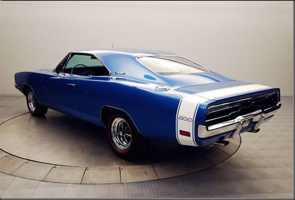 Dodge Charger 500   autostuning: MUSCLE CAR: HEMI Dodge Charger 500 mod. 1969