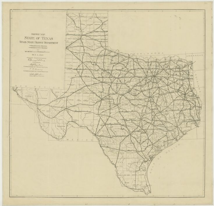 Best History Of Transport Images On Pinterest Transportation - Driving map of texas