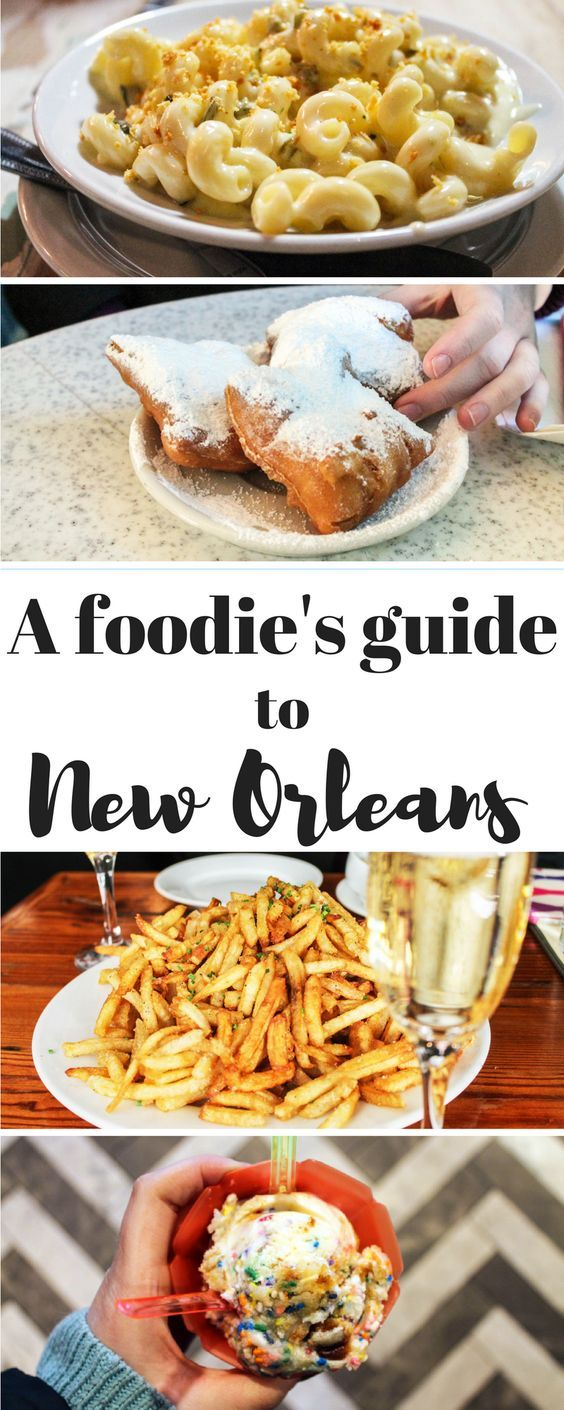 With a city full of so many amazing resturaunts, you will need this Foodie's Guide to New Orleans! Don't get overwhelmed by all the choices and accidentally miss one of the best places around. Click the pin for where to eat in New Orleans!