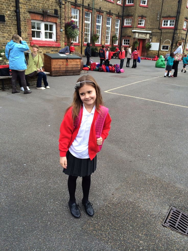 Megan first school day #london
