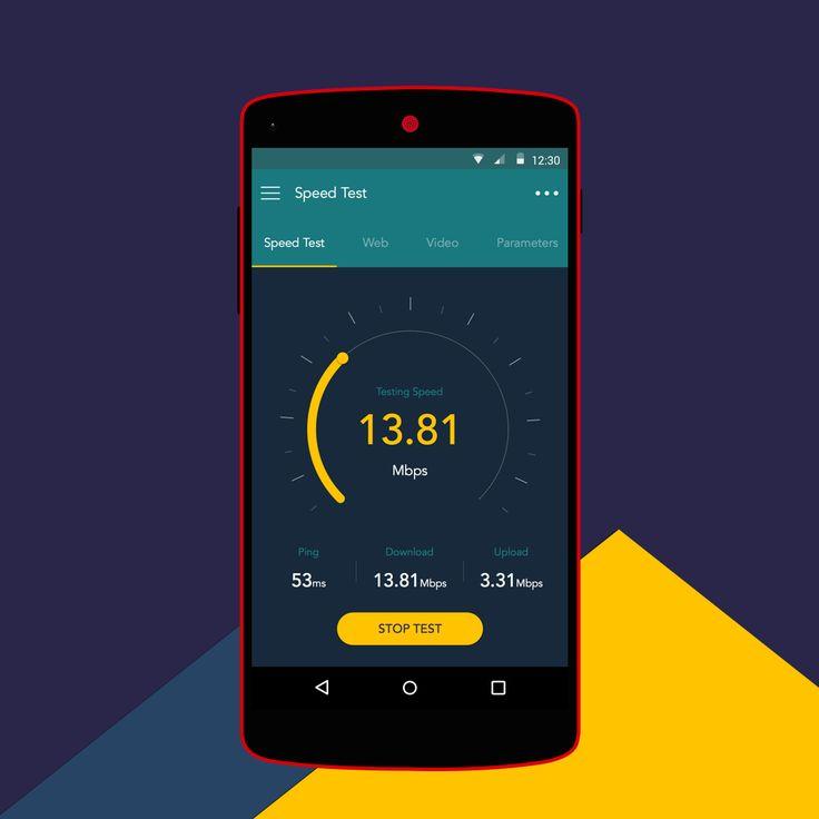 Speedtest App – Animation by Disky Chairiandy