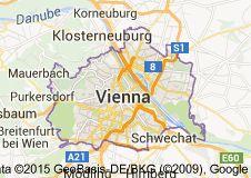 Map of vienna austria