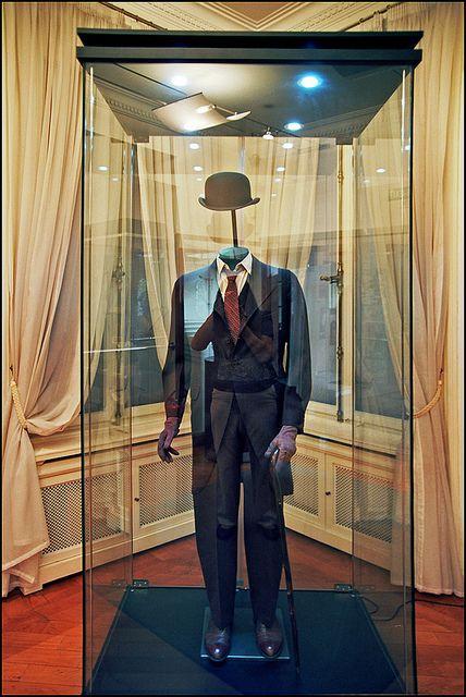 Nikola Tesla's suit