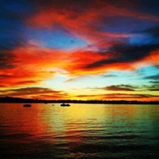 Our sunsets in Havasu are amazing !