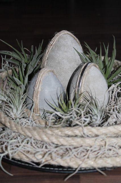 Beates-Kreative-Welten: Ostereier aus Beton