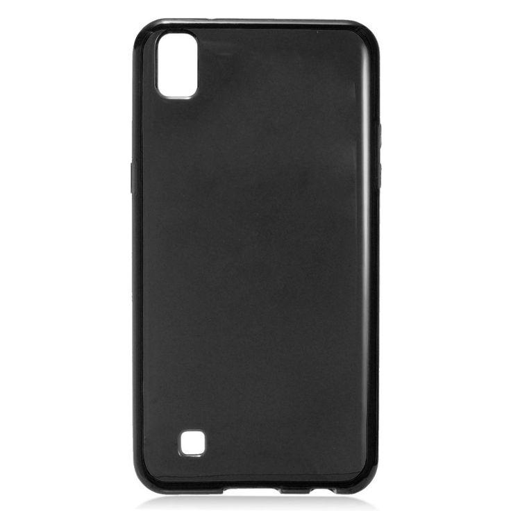 EGC Frosted Skin Slim-fit Flexible LG X Power Case - Black