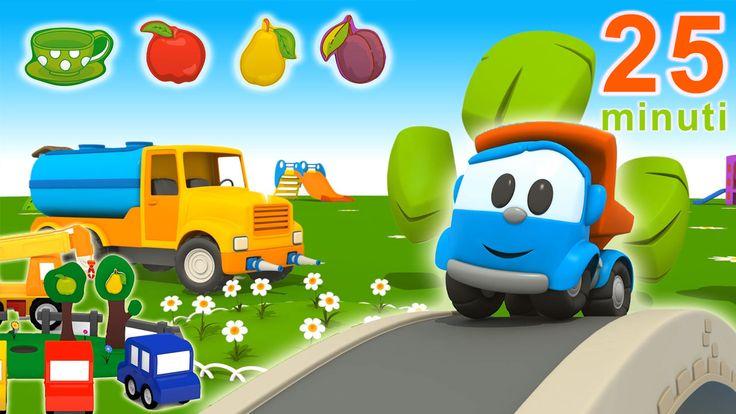 La compilation della primavera di Leo il camion e le macchinine colorate Vi piace raccogliere i fiori in primavera? Anche nel parco giochi ci si diverte all'aperto! La primavera sta arrivando! Sappiamo riconoscere le quattro stagioni? Con i cartoni animati educativi impar #cartonianimati #compilation #bambini