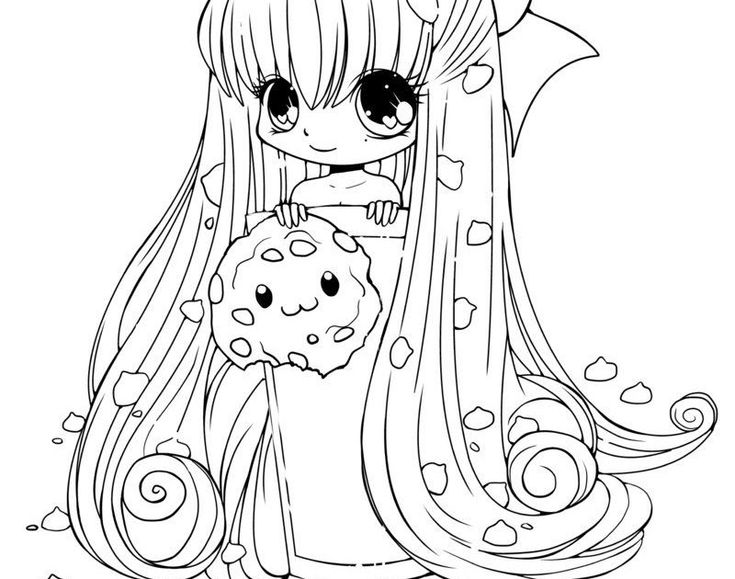 Adorable Coloring Pages For Girls Cute in 2020 (With ...