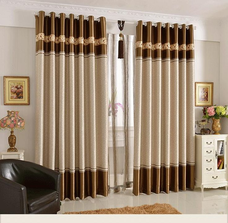 modern curtain design ideas for life and style. new home designs ...