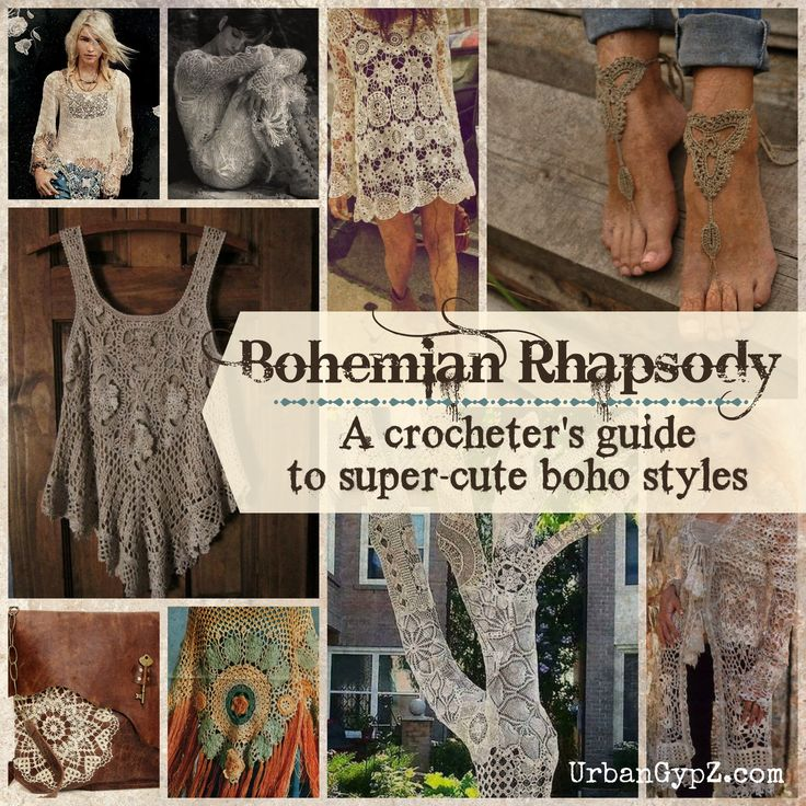 Bohemian Rhapsody: A guide to boho crochet patterns | UrbanGypZ