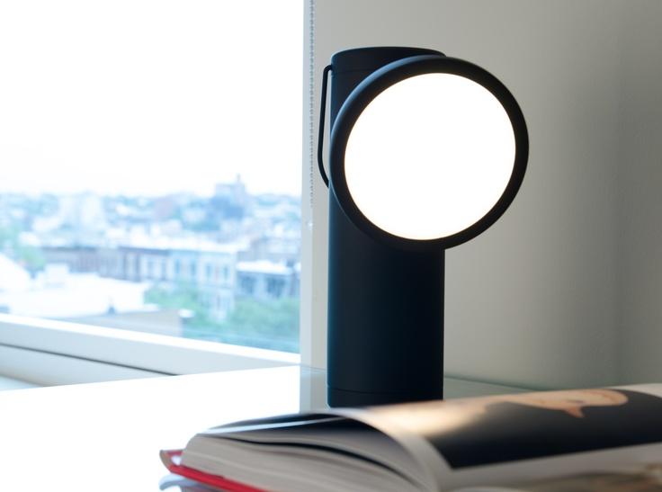 Cute little cordless lamp made by Juniper. Design Irwin design.