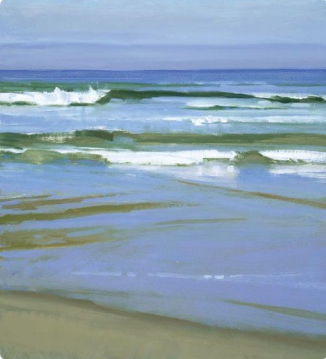 Sea painting by Marcia Burtt