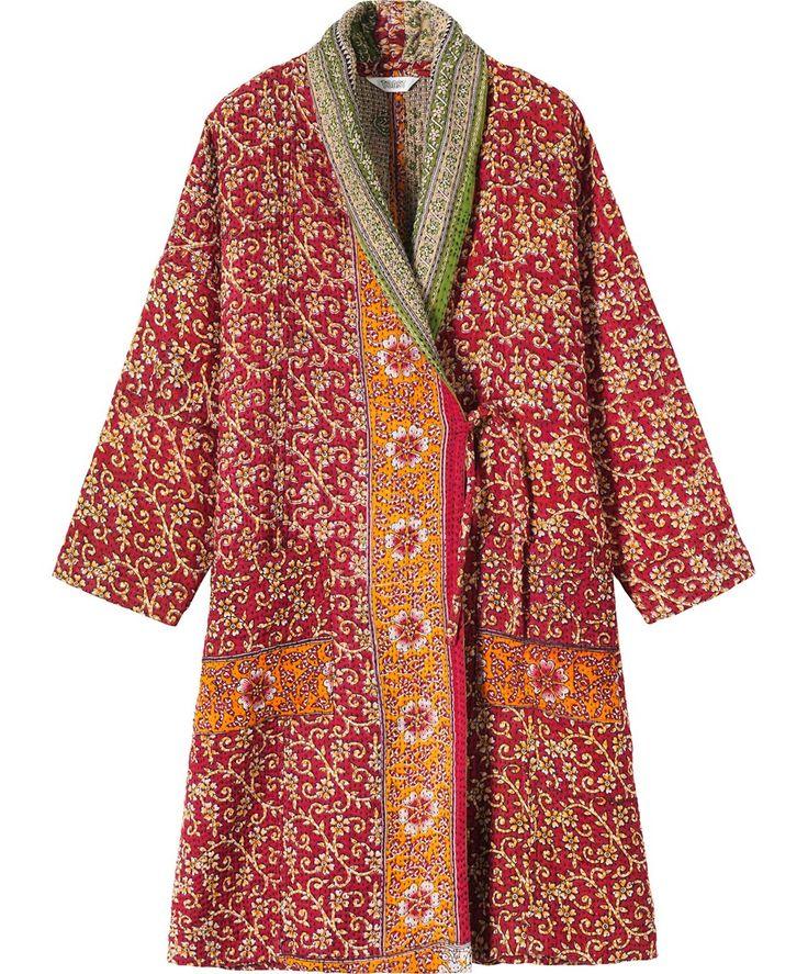 Manteau D 39 Int Rieur En Saris Recycl S Wish List Pinterest Clothes Coats And Wardrobes