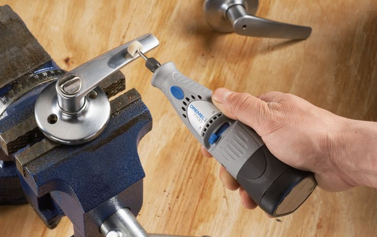 The Dremel 7700 Rotary Tool is shining a door handle http://rotarytoolsguide.com/dremel-7700-cordless-rotary-tool-review/
