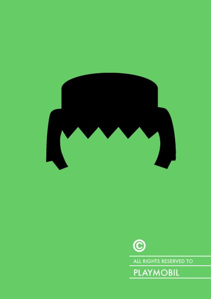 playmobil, Copyrighted Famous Hairs, Patricia Povoa