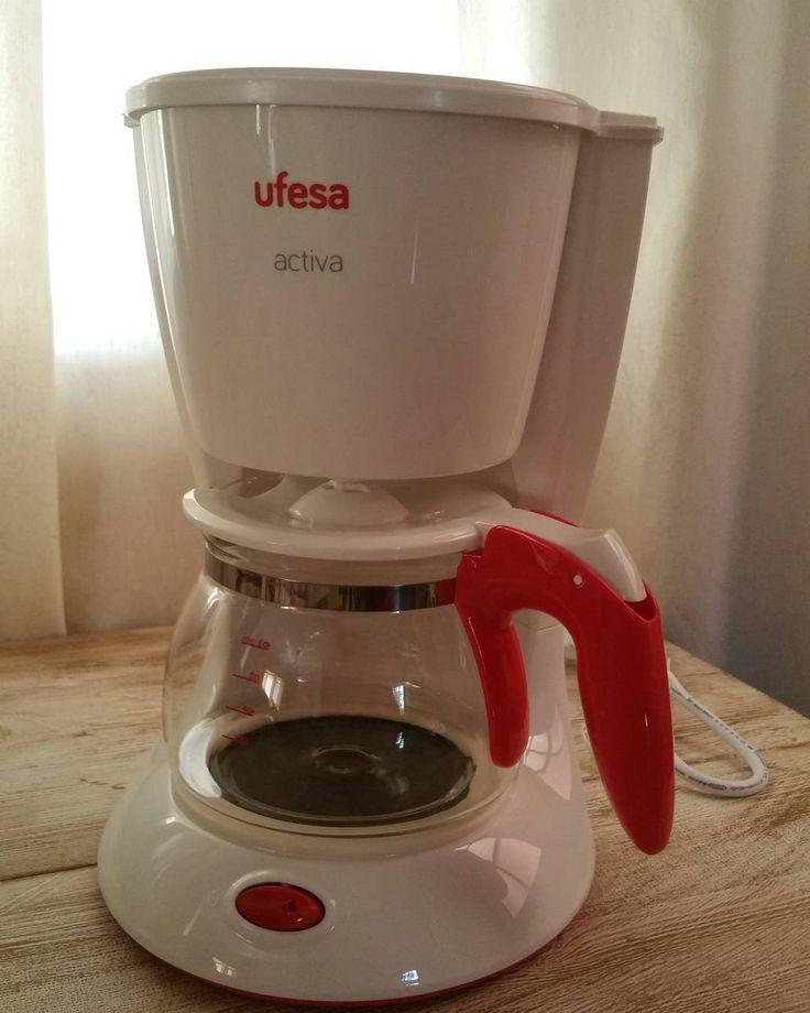 Ya la tenemos en casa. Esperemos que esta dure un poco más.  #Ufesa #cafetera #alricocafé #cafeteando