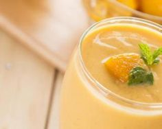 Smoothie à la mangue et au son d'avoine : http://www.fourchette-et-bikini.fr/recettes/recettes-minceur/smoothie-a-la-mangue-et-au-son-davoine.html