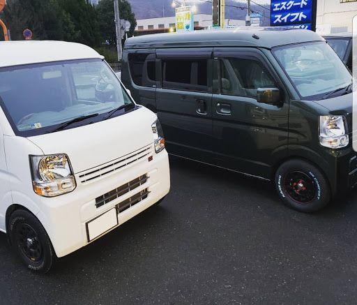 スズキ エブリイを華麗にカスタム By Polite S Style 2019 12 30 勝手にコラボしました 兄弟車が完成致しました 自分プロデュースなんで Cartune Mini Van Suzuki Every Van