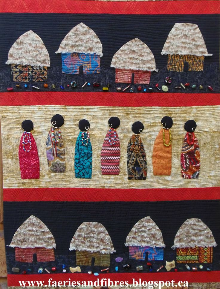 African Quilt                                                                                                                                                                                 More